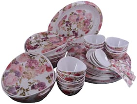 OSG Paradise Flora Dinner Set. Set of 40 pieces : By Gallery 99