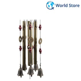 Outdoor Living Wind Chimes Yard Garden Tubes Bells Copper Home Yard