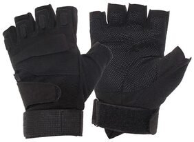 Outdoor Military Airsoft Hunting Paintball Cycling Army Gloves(black Xl)