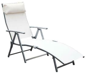 Outsunny Sling Fabric Folding Patio Reclining Outdoor Deck Chaise Lounge Chair