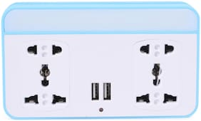 Instabuyz Abs Extension Board - 4 Sockets , 2 mtr Cable