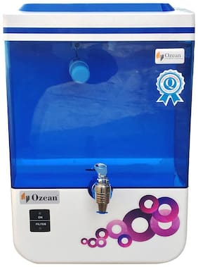 Ozean (ipure) 10 L RO Electrical Water Purifier (White)