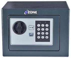 Ozone Keypad Iron Home Safe ( Grey , 6 L )
