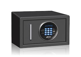 Ozone Jade black 01 Digital Steel Home Safe ( Black , 9.8 L )