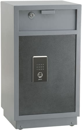 Ozone Oes-md-77 silver Digital Steel Home Safe ( Silver , 112.5 L )
