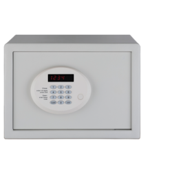 Ozone Opal ivory Digital Steel Home Safe ( White , 16.5 L )