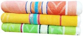 Pack Of 3 Zym Cotton Bath Towel (68 X 148 Cm)