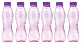 Pack of 6 fridge water bottles