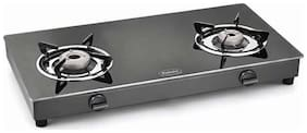 Padmini 2 Burners Gas Stove - Black