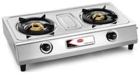 Padmini 2 Burners Gas Stove - White
