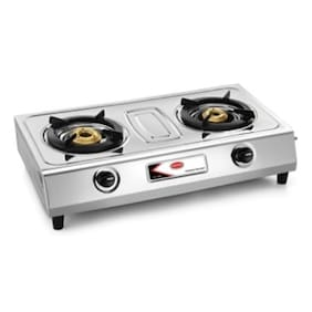 Padmini 2Br. Stainless Steel Gas Stove CS-200