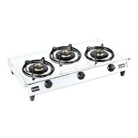 Padmini 3 Burners Regular Gas Stove - Assorted , Auto Ignition