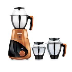 Padmini VELOCITY 750W 750 W Mixer Grinder ( Orange , 3 Jars )