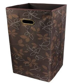 PAFFY Non Woven Brown Laundry Basket ( 1 Pc )