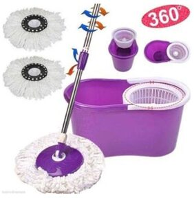 PAffy Magic Spin Mop - Purple