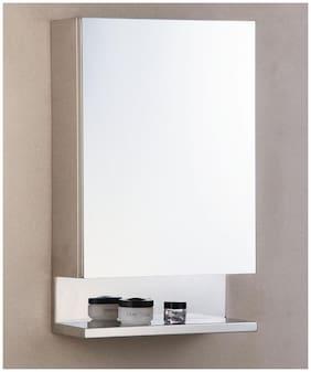 PAffy New Look Stainless Steel Bathroom Mirror Cabinet