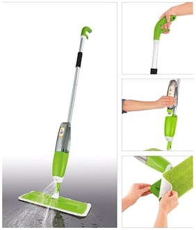 PAffy Quick and easy 360 deg iGlide Instant Spray Mop (MultiColor) + 1 Extra Microfiber Mop Head