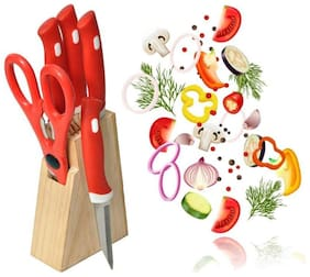 PALAK knife Set With Wooden Block
