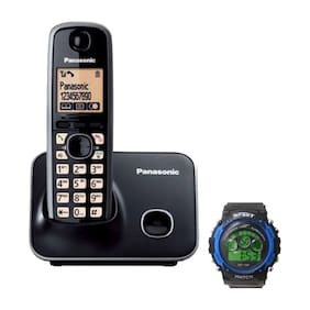 Panasonic 3711 Cordless Landline Phone ( Black )