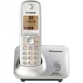Panasonic Kx-Tg3711Sxn Cordless Telephone White