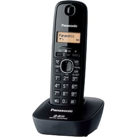 Panasonic KXTG-3411SXH Cordless Landline Phone (Black)