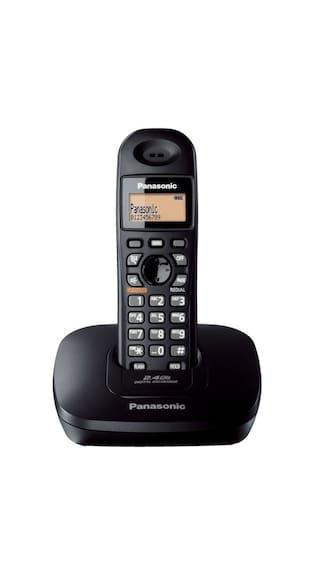 Buy Panasonic Kx-Tg3611-Sxb Cordless Landline Phone (Black) Online ... fb0019fbe2