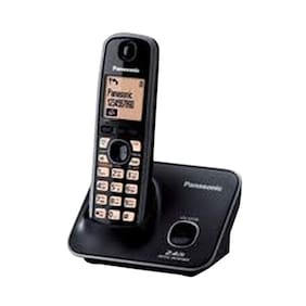 Panasonic Kxtg-3711Sx Cordless Landline Phone (Black)