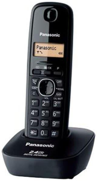 Panasonic KXTG-3411SXH Cordless Landline Phone (Black)