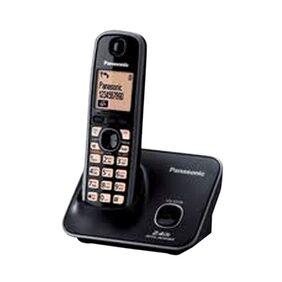 Panasonic Kxtg-3711Sx Cordless Landline Phone (Black)