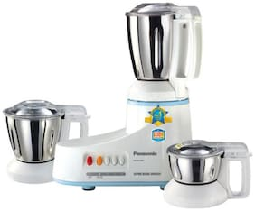 Panasonic MX-AC300S-H 550 W Mixer Grinder ( White & Grey , 3 Jars )