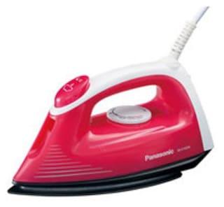 Panasonic NI-V100N 1200 W Steam Iron (White & Pink)