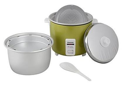 Panasonic SR-WA22H(E) 2.2-Litre 750-Watt Automatic Rice Cooker (Apple Green)
