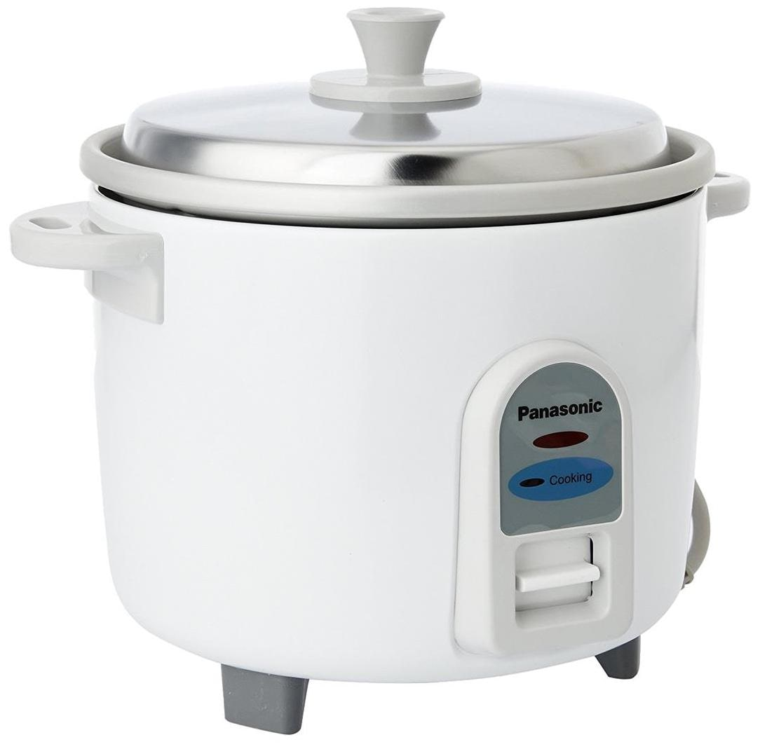 Panasonic SR-WA18 E 4.4-Litre 660-Watt Automatic Rice Cooker (White)