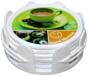 Paramveer Importered Tea Coster set With 6 stand