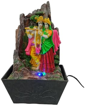Paras Magic Resin Free Standing Fountain Multicolour - Pack of 1