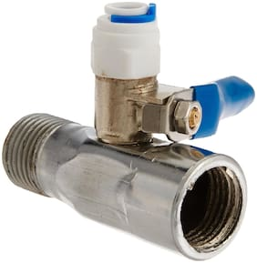 Parijata Steel Inlet Valve connector 1/4 inch for Water Purifer