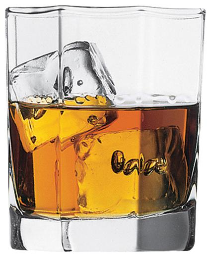 Pasabahce Kosem Whisky Glass 285 ml   Set Of 6 by Aditya Promoters