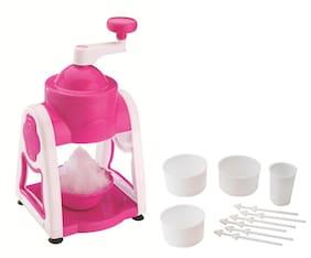 Patidar Ice Gola Slush Maker Pink