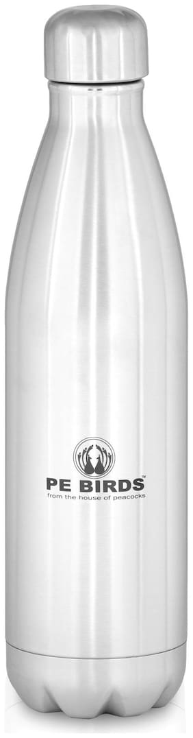 PE BIRDS Thermosteel Flask Set of 1 ( Silver , Stainless Steel ,  1800 ml )