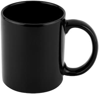 Pearl Royal Black Ceramics Milk Mug/Coffee Mug For Home/Office
