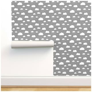 Buy Peel And Stick Removable Wallpaper Clouds In Cloud Sky Textured Online At Low Prices In India Paytmmall Com