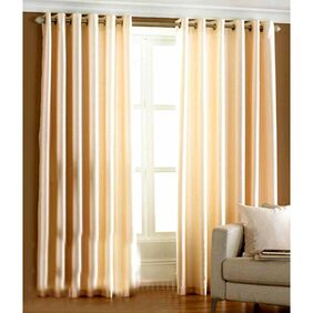 Pendu Art Cream Door Curtains -