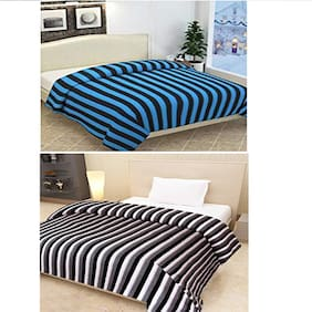 Peponi Pack of 2 Pcs Fleece Blanket 60X90 inches