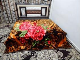 Peponi Pebble 4 Kg Super Soft Double Bed Mink Blanket , 220*240Cm
