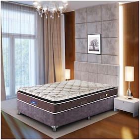 Peps Restonic Sanibel Pillow Top 06 inch Queen Size Inner Spring Mattress ( 72X60X06 _Beige)