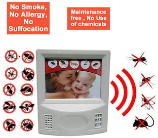Pest repellent device for room with Ultrasound Pest Repeller Cum Health Care Systems