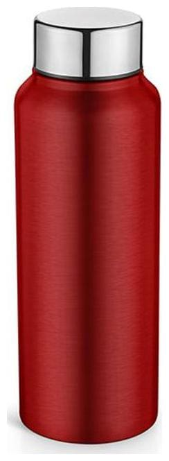 Pexpo 500 ml Stainless Steel Red Water Bottles - Set of 1