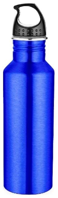 Pexpo 750 ml Stainless steel Blue Water bottles - 1 pc