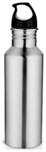 Pexpo 750 ml Stainless steel Silver Water bottles - 1 pc