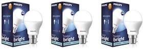 Philips 10.5 W LED Bulb - Pack Of 3